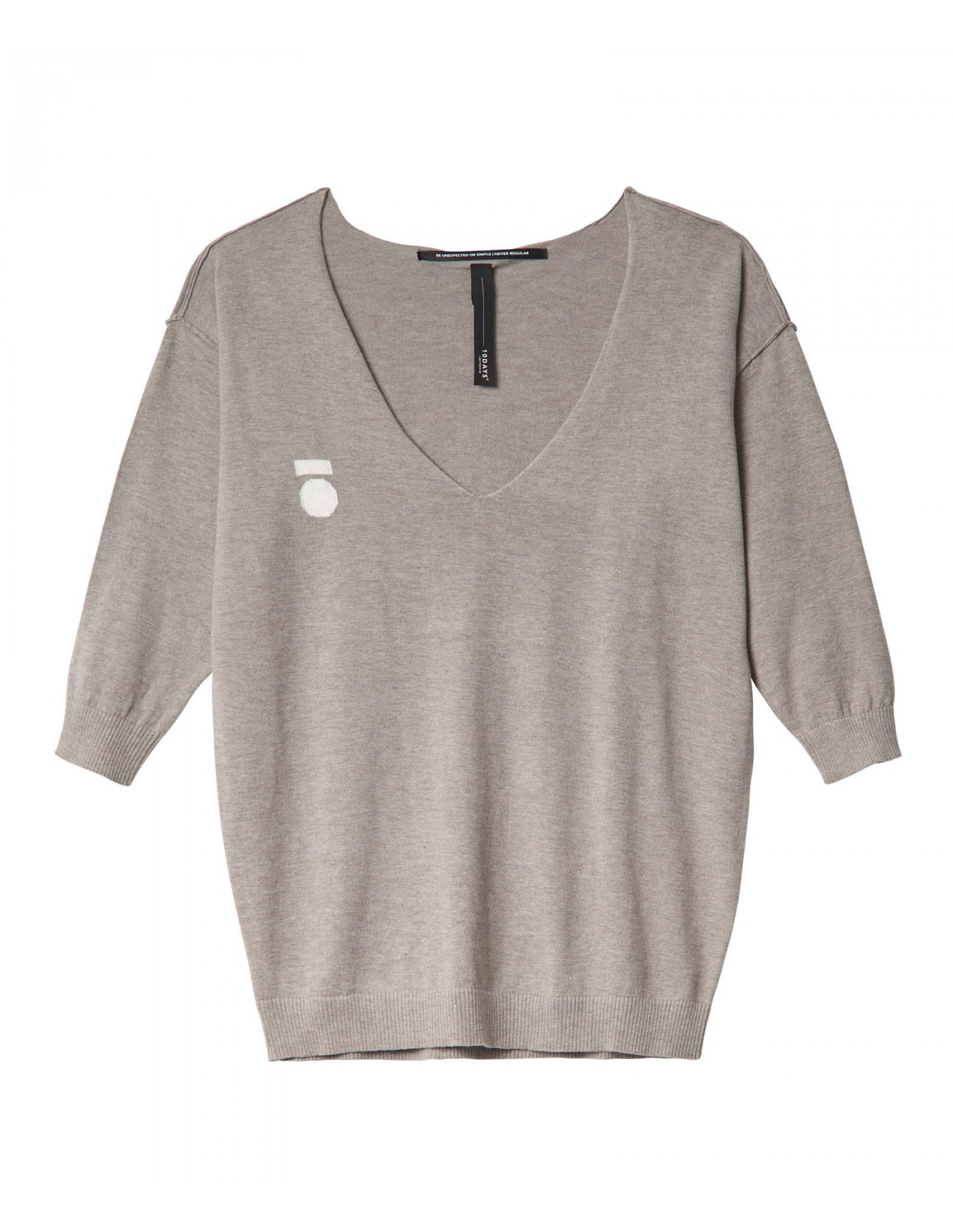 10DAYS V-Neck Sweater